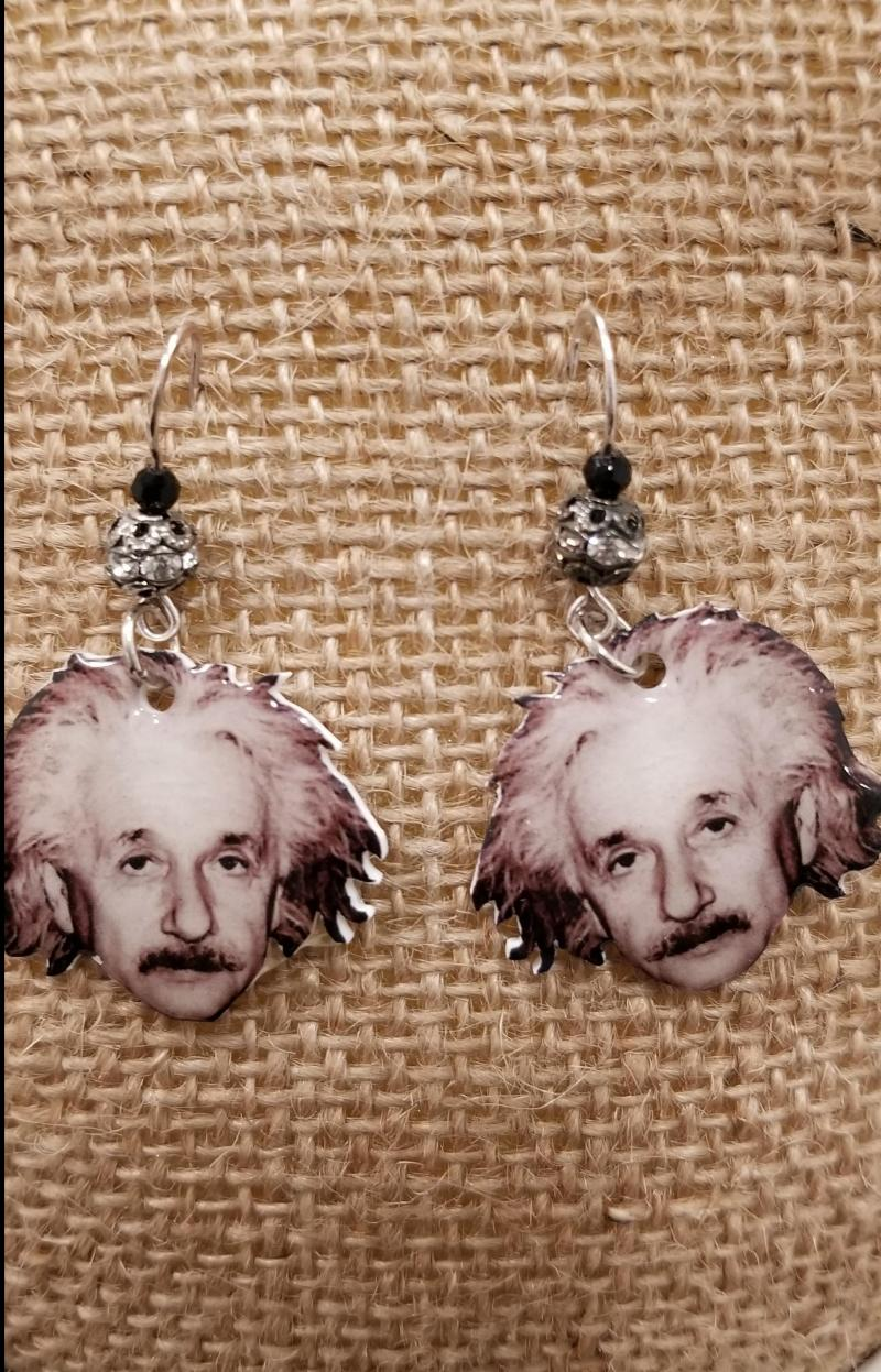 Einstein Earrings