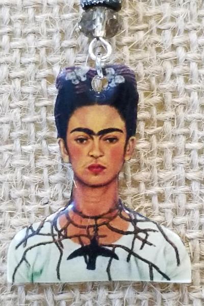 Frida Kahlo Hummingbird Thorn Earrings