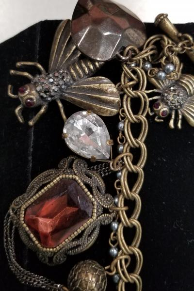 Betsey Johnson Bee Charm Bracelet