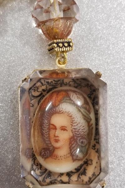 Marie Antoinette Curio Pendant and Necklace