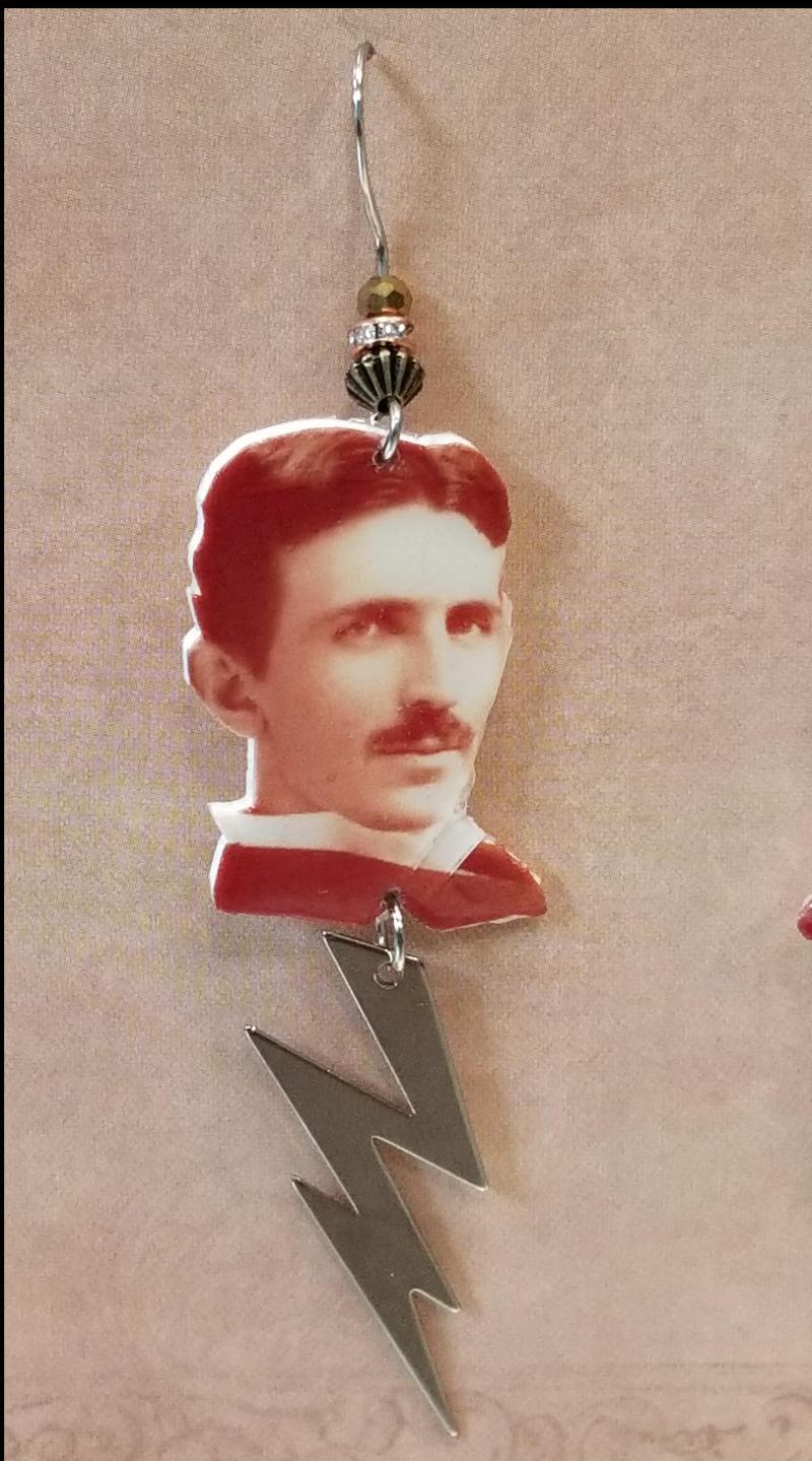 Nikola Tesla Earrings