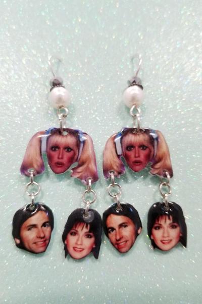 Three's Company Earrings