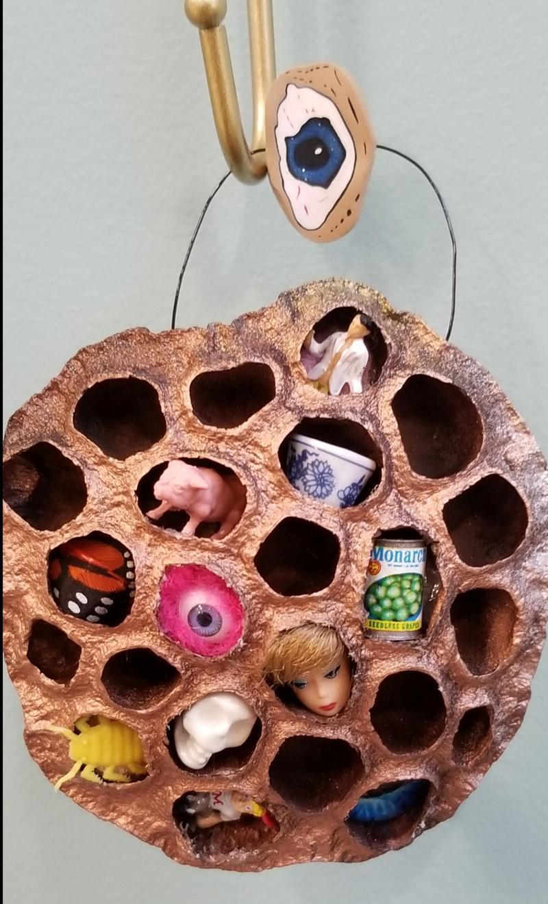 Trypophobia Desensitization Ornament