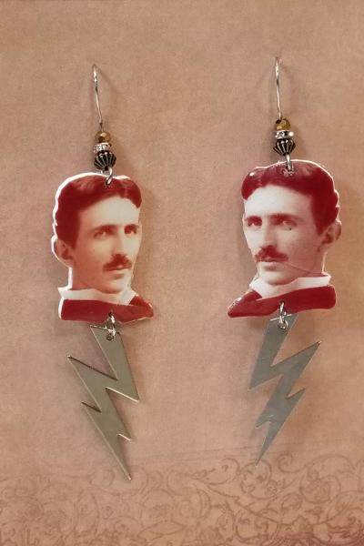 Nikola Tesla Earrings