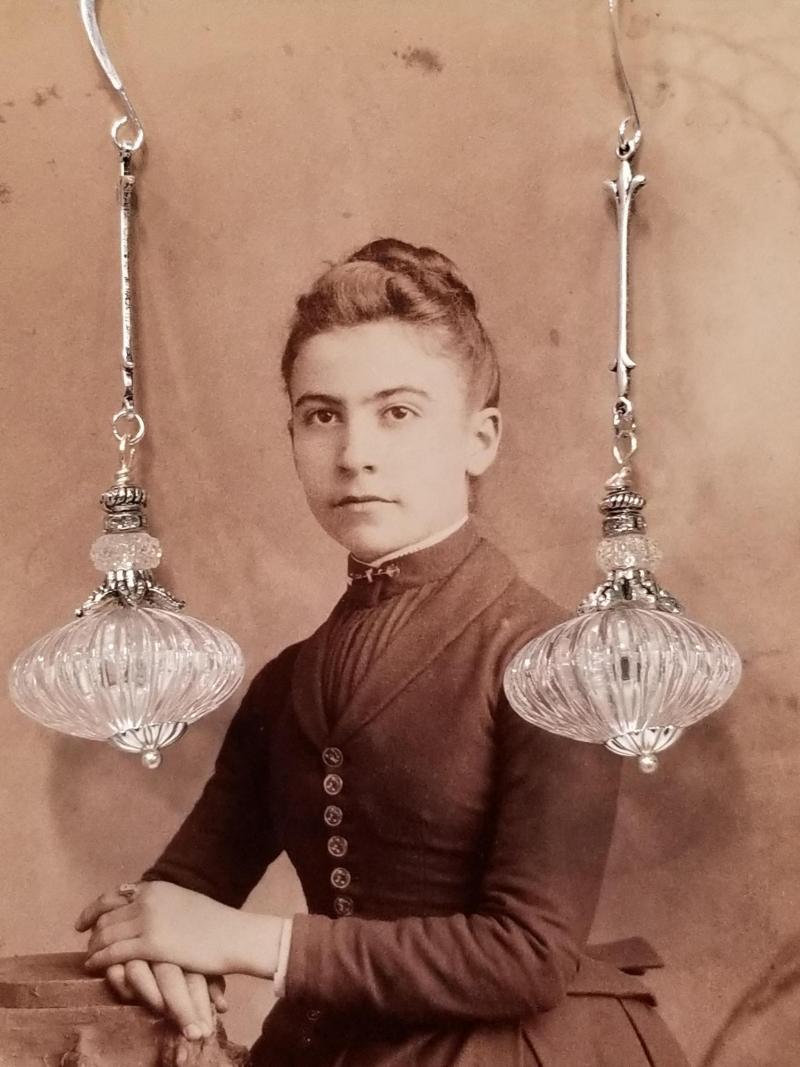 Actual Chandelier Earrings