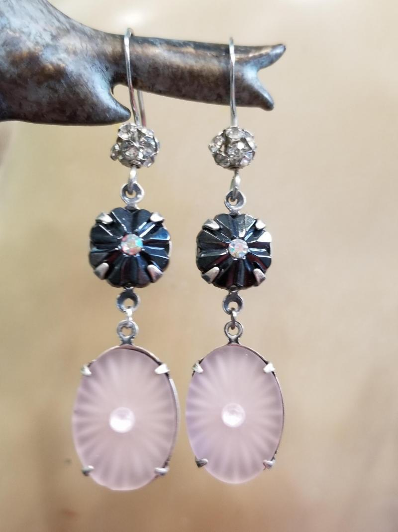 Punk Rock Ballet Earrings