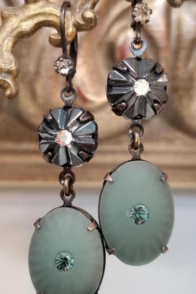 Teal Lagoon Earrings