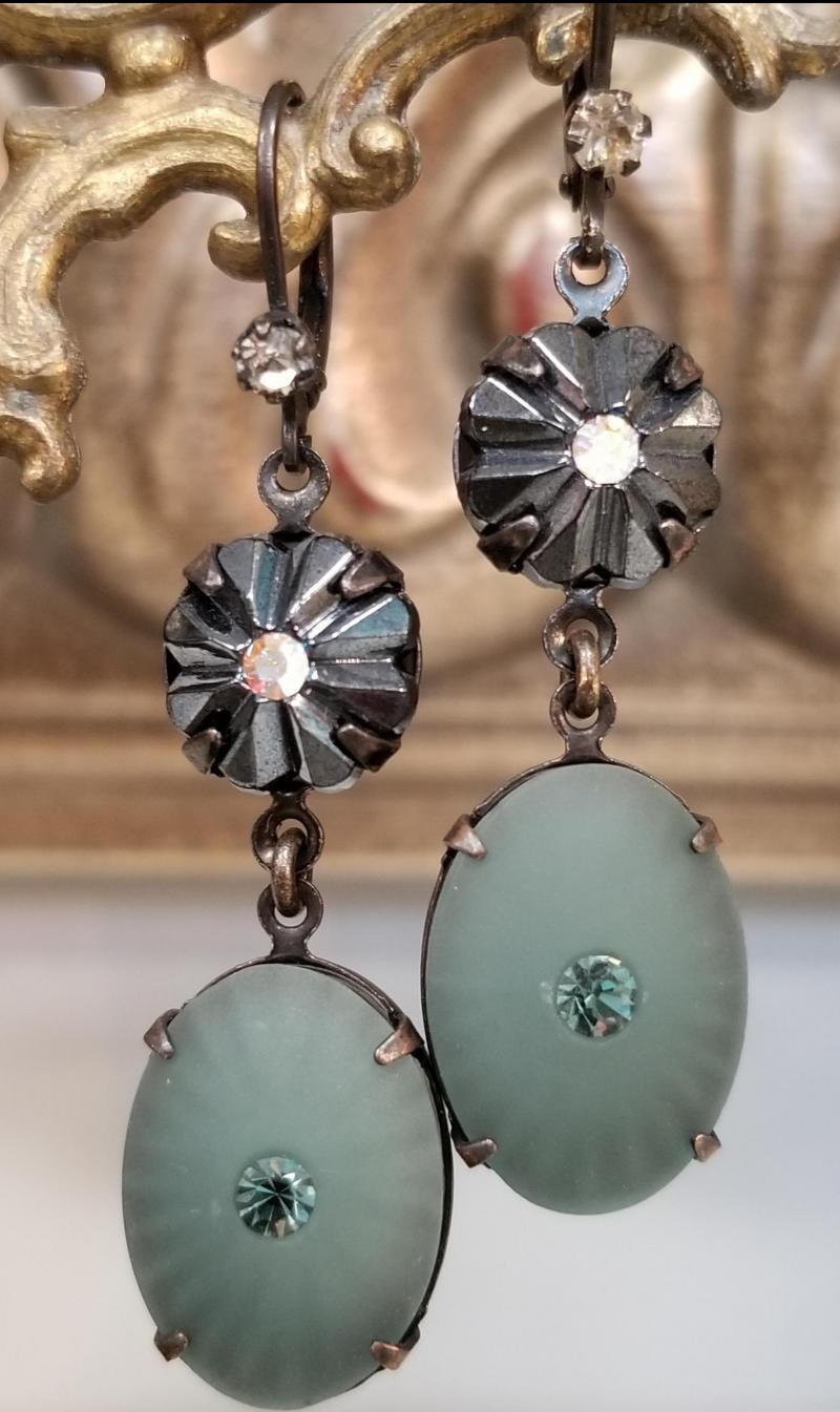 Teal Lagoon Earrings