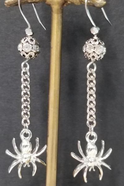 Webbing Spider Earrings