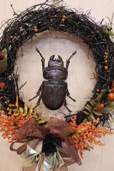 Fall Beetle Wreath