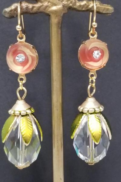 Midnight Bloom Earrings