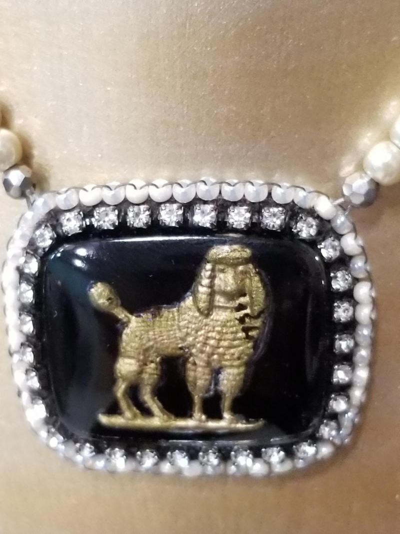 Vintage Dog Necklace