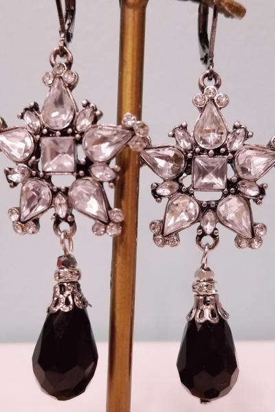 Pentagonal Primatic Earrings