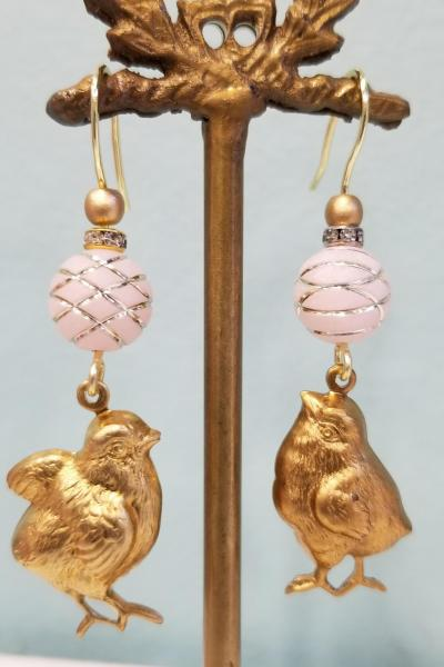 Spring Chick Earrings