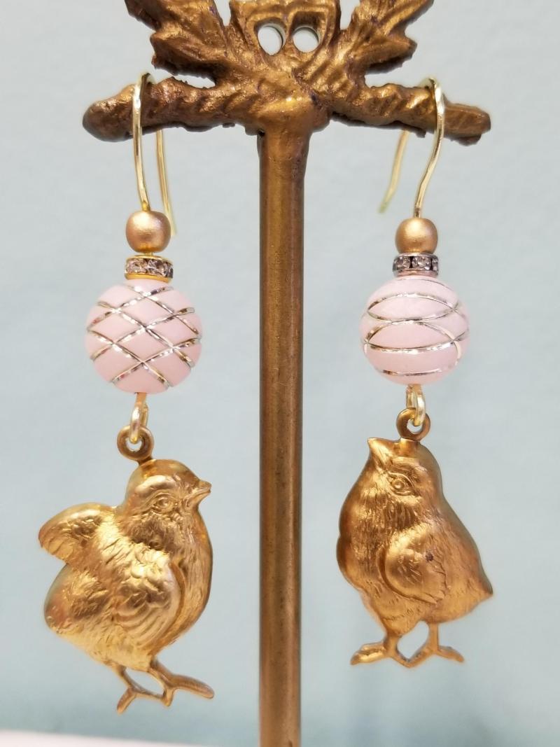 Spring Chick Earrings