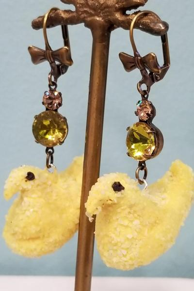 Yellow Chick PEEP Earrings