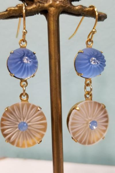 Once in a Blue Moon Earrings