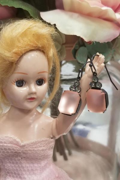 Luminous Cotton Candy Earrings