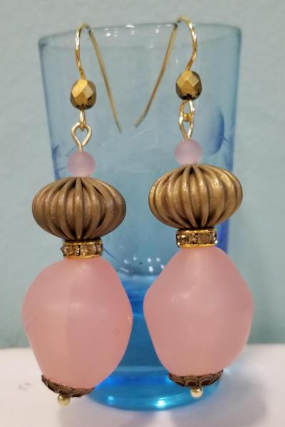 Bubble Gum Lantern Earrings