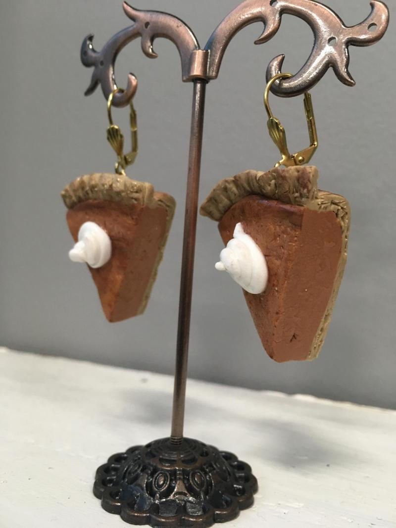 Pumpkin Pie Earrings