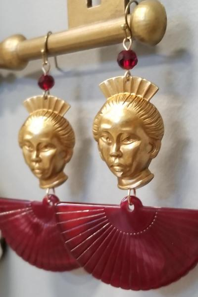 Geisha Girl Earrings