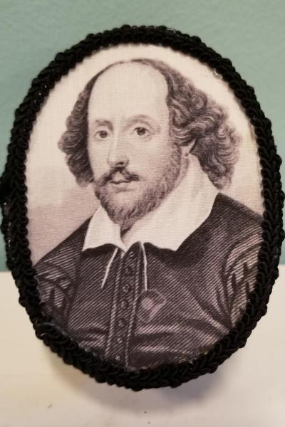 Black and White Shakespeare Decorative Box