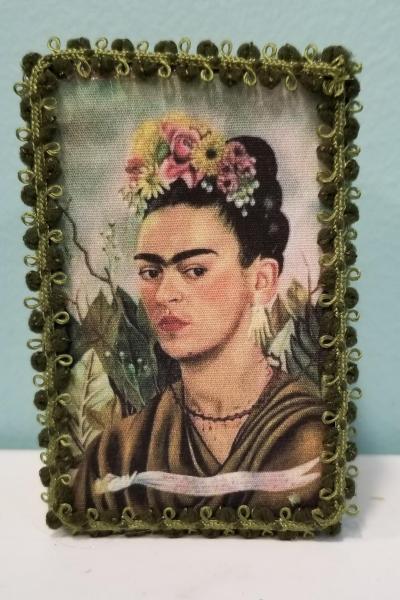 Frida Kahlo 1940 Self- Portrait for Dr. Eloesser  Decorative Box  (Smaller Version)