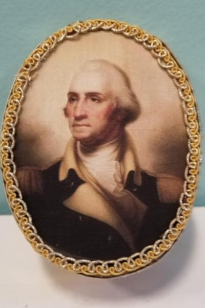 General George Washington Decorative Box