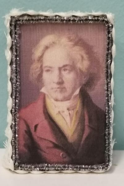 Ludwig van Beethoven Decorative Box (Smaller Size)