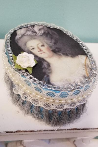 Marie Antoinette Peasant Dress Decorative Box