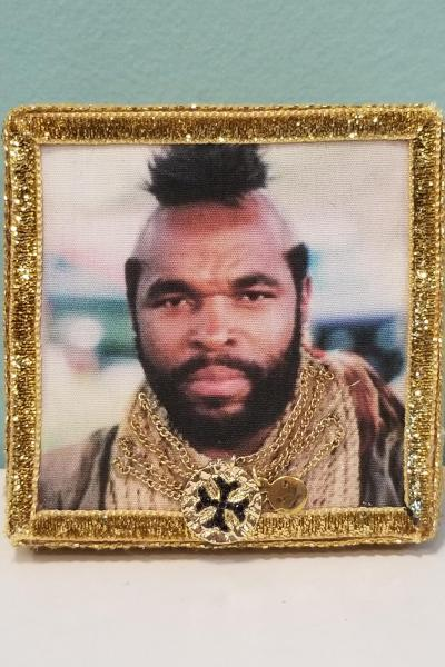 Mr. T with Gold Chains Decorative Box