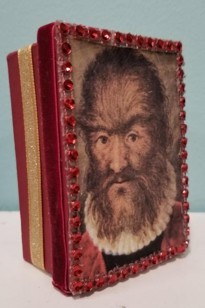 Petrus Gonzales Portrait Painting Decorative Box