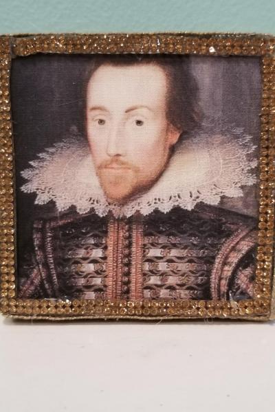Portrait of Shakespeare Decorative Box