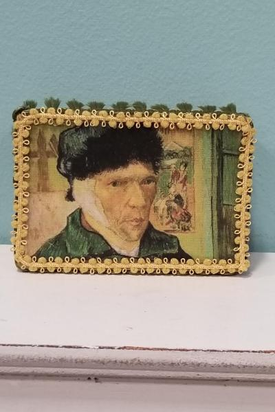 Portrait of Vincent Van Gogh with Bandaged Ear Decorative Box