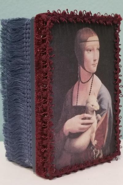 Portrait of Renaissance Lady with Ermine Decorative Box