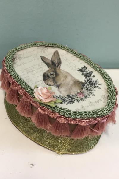 Bunny Rabbit Decorative Gift Box