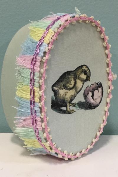 Spring Chick Decorative Box