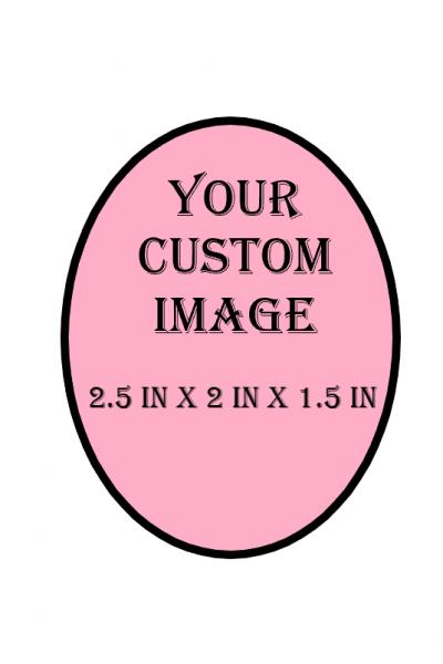 Custom Decorative Box (SMALLER OVAL)