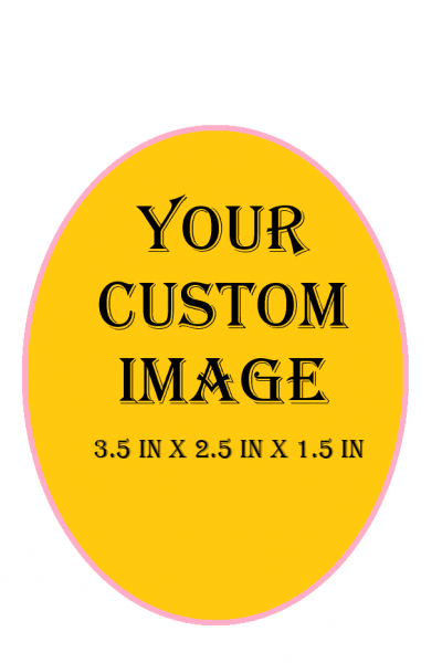 Custom Decorative Box (LARGER OVAL)