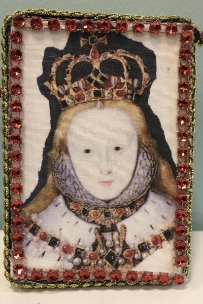 Queen Elizabeth 1 of England Decorative Box