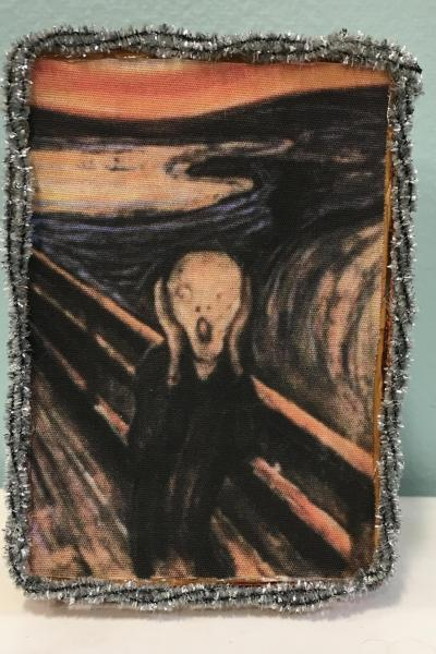 The Scream Painting Decorative Box